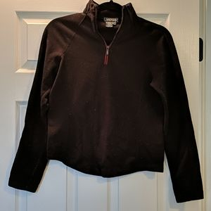 Ralph Lauren Black and Red Quarter Zip Fleece